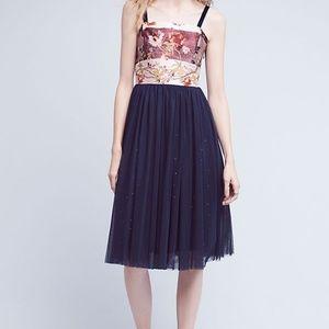Moulinette Soeurs | Tulle-Skirted Floral Dress